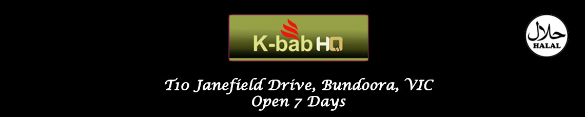 K-Bab HQ (Bundoora) Official Website (Order Online)